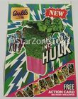 Rare 1979 The Incredible Hulk Walls Ice Lolly Shop Display Sticker